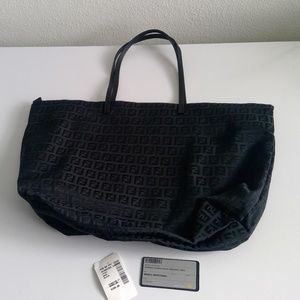 Auth Black Fendi Bag with tags